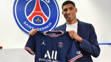 Paris Saint-Germain sign Achraf Hakimi from Inter Milan
