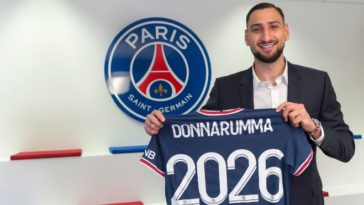 Paris Saint-Germain sign Gianluigi Donnarumma as free agent