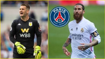 Sergio Ramos snubs Manchester United to join PSG; Tom Heaton arrives at Old Trafford