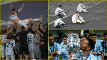 Social Media erupts as Lionel Messi and Argentina win the Copa America