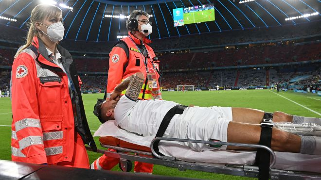 UEFA Euro 2020 Leonardo Spinazzola set to miss the rest of the tournament after suffering Achilles injury
