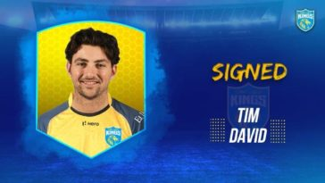 CPL 2021: Saint Lucia Kings sing Tim David as Matthew Wade replacement