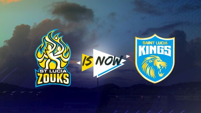 CPL: Saint Lucia Zouks renamed Saint Lucia Kings