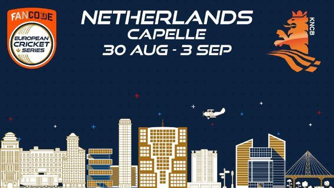 ECS T10 Capelle 2021 Points Table: ECS Netherlands, Capelle 2021 Standings