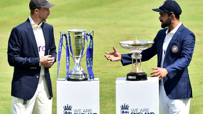 England, India penalised for slow over-rates in first Test; docked two WTC points each