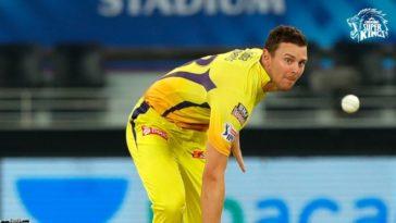IPL 2021: Chennai Super Kings confirms Josh Hazlewood availability for UAE leg