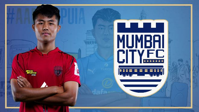 ISL 2021-22: Mumbai City FC sign Lalengmawia 'Apuia' Ralte from NorthEast United for five years