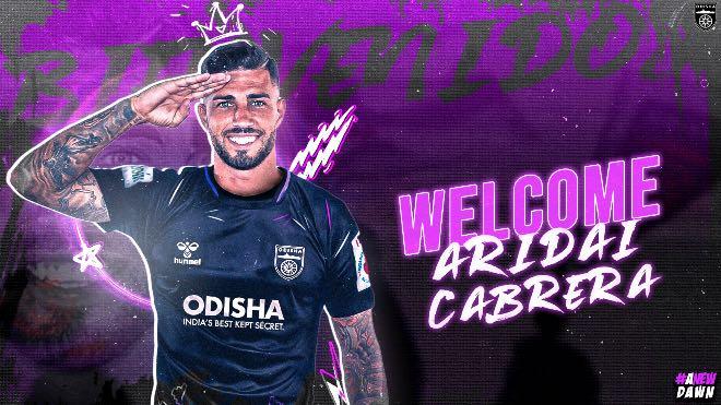 ISL 2021-22: Odisha FC rope in Spanish winger Aridai Cabrera
