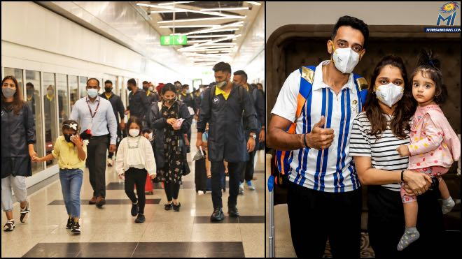 In Photos: MI and CSK reached UAE for IPL 2021