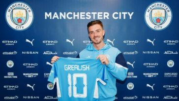 Jack Grealish signs for Manchester City on a six year deal