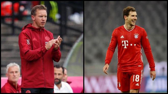 Julian Nagelsmann is confident Leon Goretzka will stay at Bayern Munich