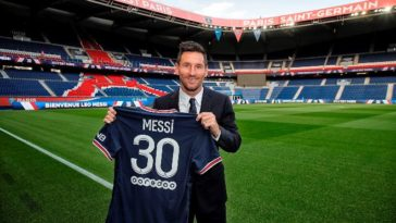 Lionel Messi signs two-year deal with Paris Saint-Germain after leaving Barcelona