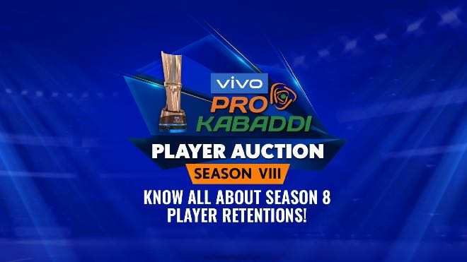 PKL 2021 Auction: List of retained players for Pro Kabaddi League 2021