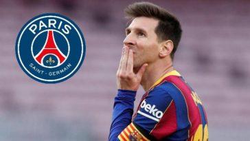 Paris Saint Germain lurking around Messi after he leaves Barcelona