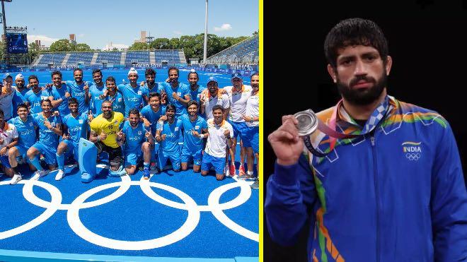 Tokyo Olympics 2021: Men's hockey team scripts history; Ravi Dahiya has to settle for silver