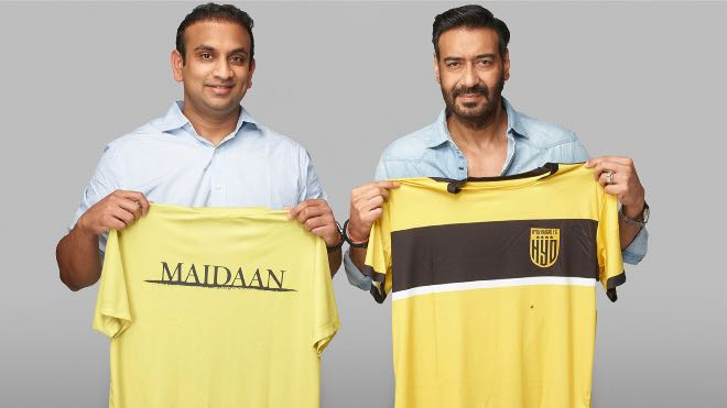 Hyderabad FC And Ajay Devgn-starrer 'Maidaan' movie announces unique partnership