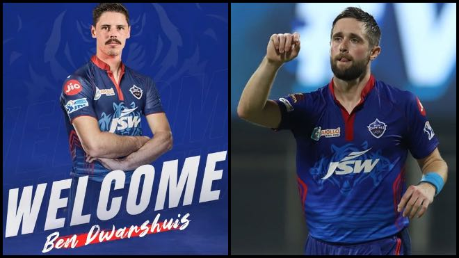 IPL 2021: Ben Dwarshuis to replace Chris Woakes at Delhi Capitals for UAE leg