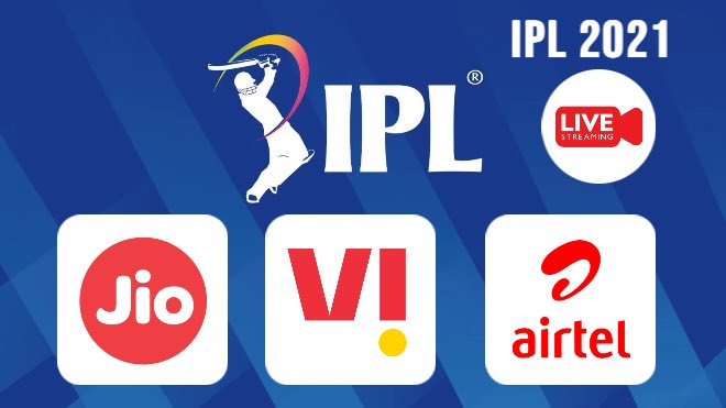 IPL 2021 Live: How to watch IPL 2021 free with Airtel, Jio and VI; Check out the best recharge plans