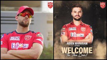 IPL 2021: Punjab Kings signs Aiden Markram as Dawid Malan replacement