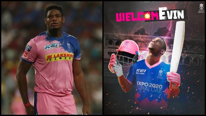 IPL 2021: Rajasthan Royals rope in Oshane Thomas and Evin Lewis as replacements for Jos Buttler and Ben Stokes