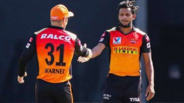 IPL 2021: SunRisers Hyderabad's T Natarajan tested positive for Covid; 6 close contacts isolated; SRH vs DC match to go-ahead