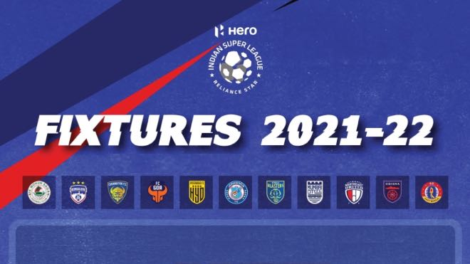 ISL 2021-22 fixtures announced: Check Full Schedule, Date Time and Venue